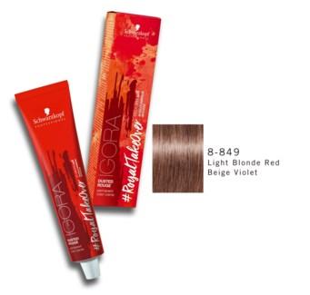 8-849 Lgt Bld Red Beige Violet RTO