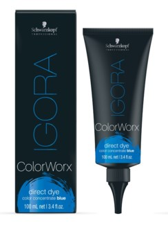 IG ColorWorx Direct Dye Blue 100ml