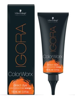 IG ColorWorx Direct Dye Orange 100ml