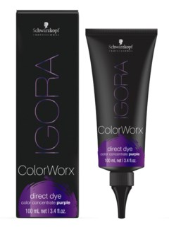 IG ColorWorx Direct Dye Purple 100ml