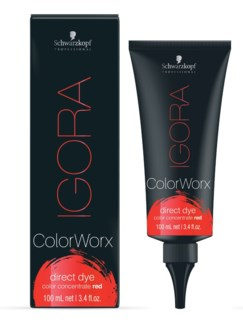 IG ColorWorx Direct Dye Red 100ml