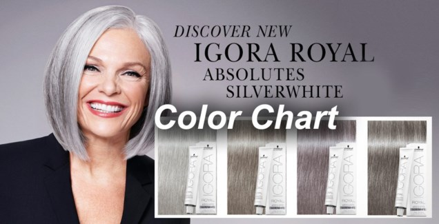 NEW Absolute Silverwhite Color Chart SW
