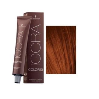 5-7 10 Min Igora Color10 Lgt Brown Coppe