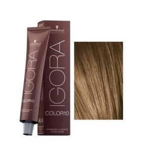 7-0 10 Min Igora Color10 Med Blonde