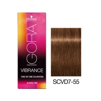 NEW VIBRANCE 7-55 Med Blonde Gold Extra