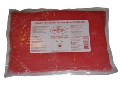 1LB Peach Paraffin WAX 450g BAG SHARONEL