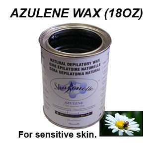 Azulene Wax 18 Oz. Sharonelle