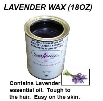 Lavender Wax 18 Oz. Sharonelle