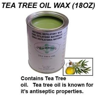 Tea Tree Oil Wax 18 Oz.