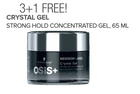 ! 3+1 Osis SL Crystal Gel NOV17