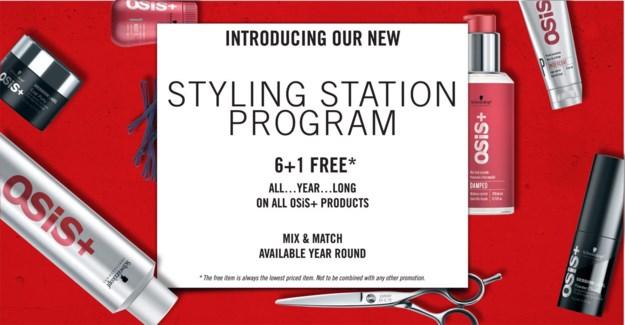 6+1 Osis Styling Station Program YROUN
