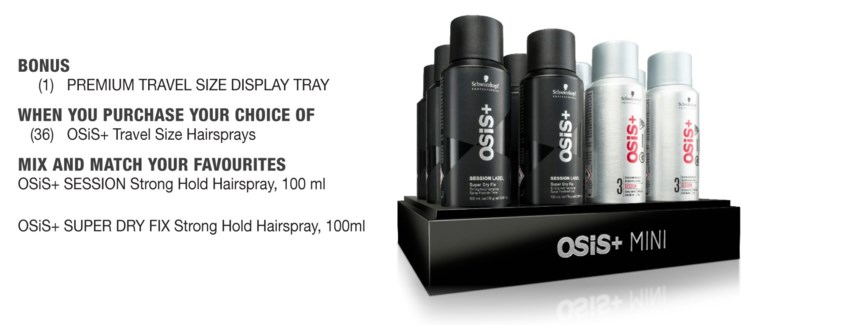 Osis+ Travel Size Display Tray EMPTY
