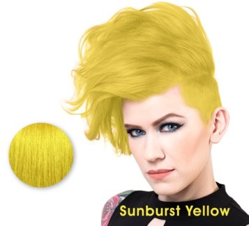 SPARKS SUNBURST YELLOW LL HAIR COLOR 3OZ