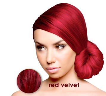 SPARKS RED VELVET LL HAIR COLOR
