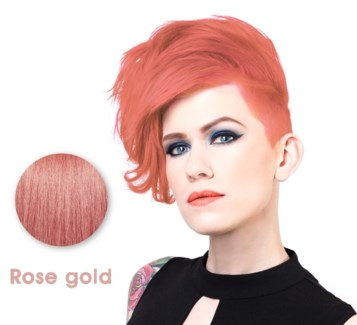 SPARKS ROSE GOLD LL HAIR COLOR
