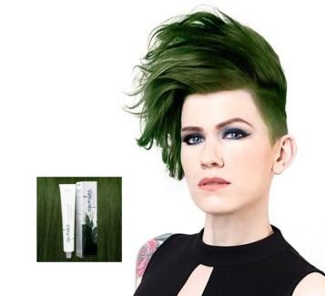 SPARKS CAMO GREEN HAIR COLOR 3OZ
