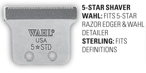 PLZ USE WAH51014  5 Star Shaver Blade