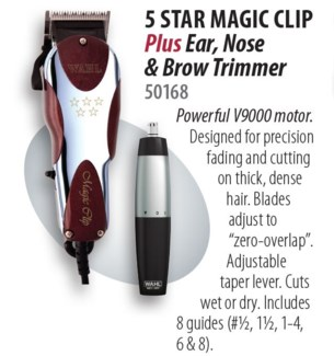 Wahl Magic Clipper W/Ear Nose Trimmer
