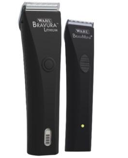 Black Bravaura Bravmini Trimmer Combo