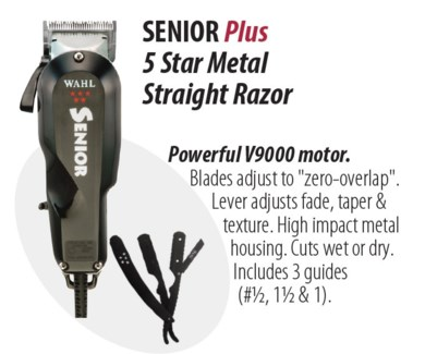 Senior Plus Clipper + Strgt Razor JA18
