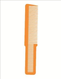 Clipper Cut Comb Orange 53195