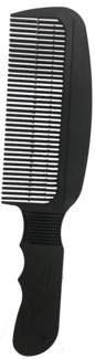 Wahl Barber Flat Top Comb BLACK