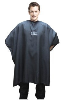 Traditional Barber Pinstripe Cape