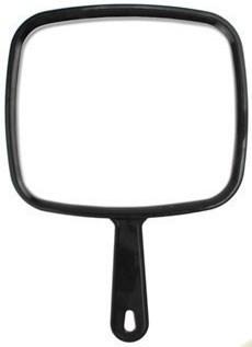 5 Star Barber Handheld Mirror