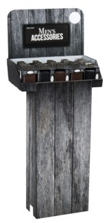 Men's Leather Wallets on Floor Display - 48pc
