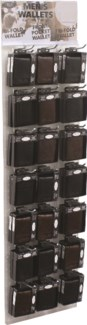 Men's Wallets on the Clear Panel