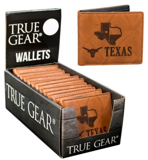 Suede State Wallets - Texas