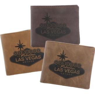 Suede State Wallets - Las Vegas