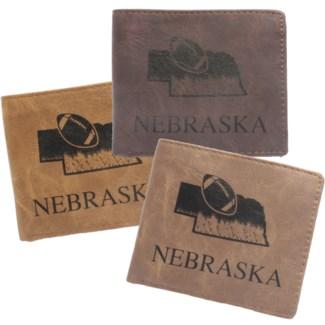 Suede State Wallets - Nebraska