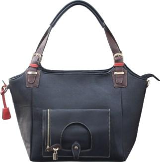 Italian Locket Handbag Black