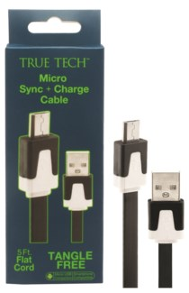 Sync + Charge Micro USB Cable