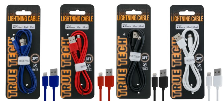 Sync + Charge Cable with Lightning Connector