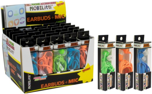 Mobilitti Quality Earbuds with Mic