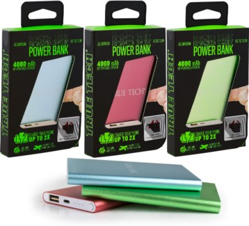 Ultra Slim Power Bank (4000mAh)
