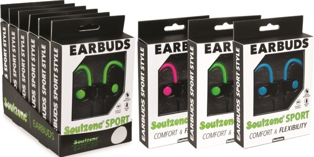 Sport Earbuds with Mic