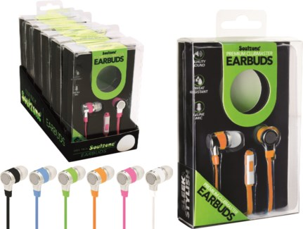 Premium Clubmaster Earbuds with Mic