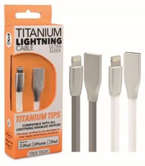 Titanium Lightning Cable (3 FT)