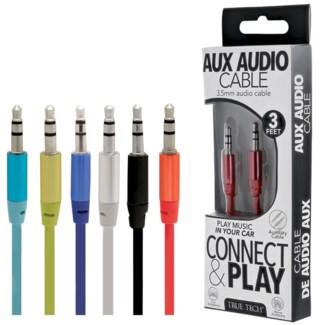 AUX Audio Cable - 3ft