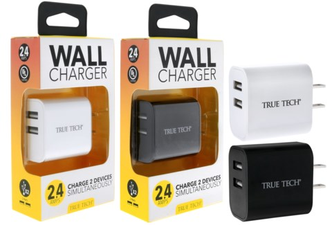 2.1 Amp Wall Charger - UL Listed