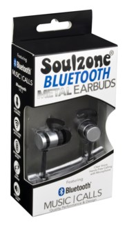 Soulzone Bluetooth Metal Earbuds