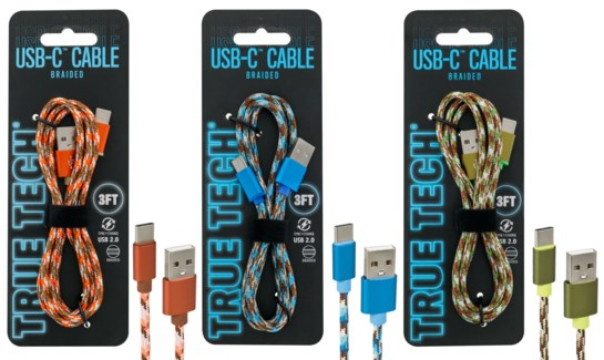Braided USB-C Cable 3FT Cable