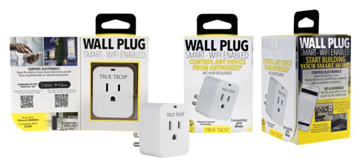 Wall Plug Smart WiFi Enabled