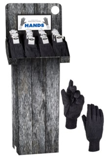 Work Gloves Slip Resistant - 144 pc Shipper