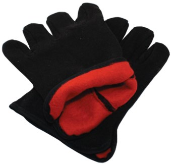 Red Lined Gloves