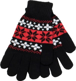 Glove White/Black/Red - Stadium Series