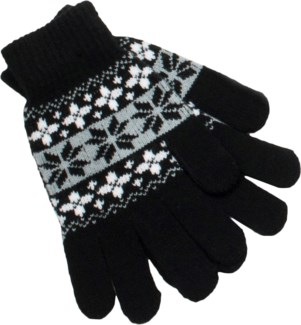Glove Black/ White/Gray - Stadium Series